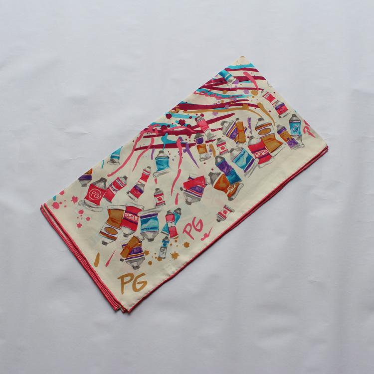 100 custom printed silk square scarves buy custom