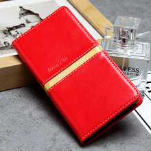 Luxurious and reasonable price phone leather case cover with wallet for ladies