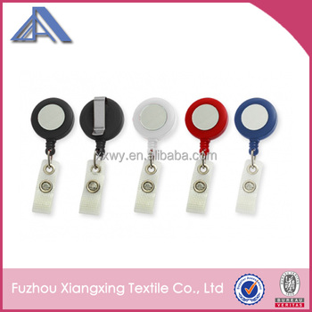 ID card pull reel with logo printing