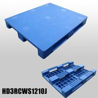 Low Price of Plastic Stacking Pallets Display