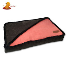 Wholesale New Product Soft Large Colorful Canvas Dog Beds