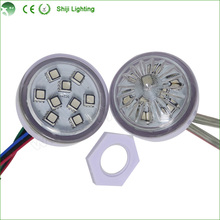 45mm 9 SMD 5050 <strong>rgb</strong> ucs1903 2811led pixel for Amusement Ride Ferris Wheel Fairground led lights