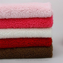 2014 Hot Sell Super Soft 100% Polyester sheep fleece Fabric for Baby Blanket, cushions, pillows.
