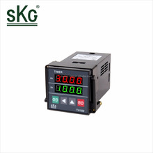 TH100 high quality Mini Industrial Electric Panel Timer switch LED digital Display Countdown Timer Relay 85~265VAC