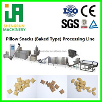 pillow snack processing line