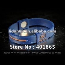 Power Core Bracelet in Hologram,100%silicone,Anti-radiation and harmless to body