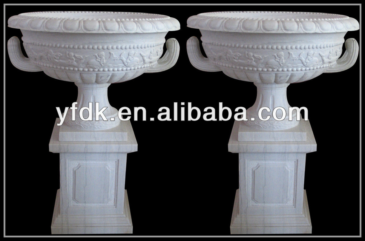 Antique Large Stone Urns,Stone Vase,Stone Planter