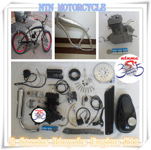 80cc black bicycle 2 stroke gas motor kit 2 cycle for sale