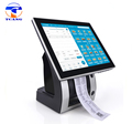 waterproof quad core windows tablet pos automated billing machine with thermal printer