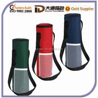 Polyester Insulated Bottle Beer Cooler Bag For Beer/Wine
