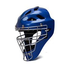 Hockey equipment,Blue hockey helmet,Ice hockey helmet