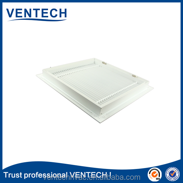VENTECH factory made air louver aluminum return grille fixed blades