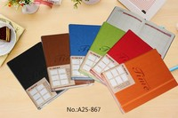 new fashion a4 a5 b5 b6 size PU leather cover journal note book