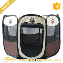 Pop Up Cheap Oxford exercise pet playpen colorful dog tent