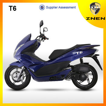 Znen motor t6 gas scooter 150cc pcx scooter big model for Where can i buy a motor scooter