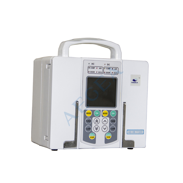 AG-XB-Y1200 dual-channel hospital syringe instrument used medical infusion pump