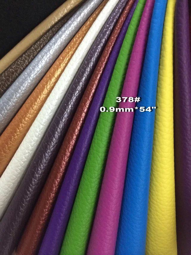 PVC Synthetic Leather Material for Furniture Sofa Chairs