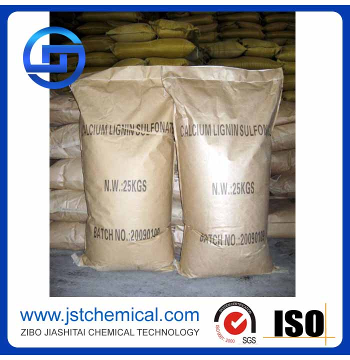 Calcium Lignosulfonate For Construction Drilling Mud Thinner Agent