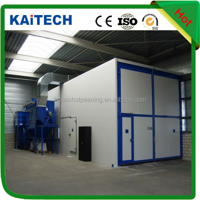 Factory price! sand blasting room for sale