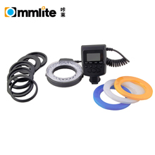 Commlite Hot Selling Flash 'CoMiray' LED Ring Flash Light for Sony Cameras