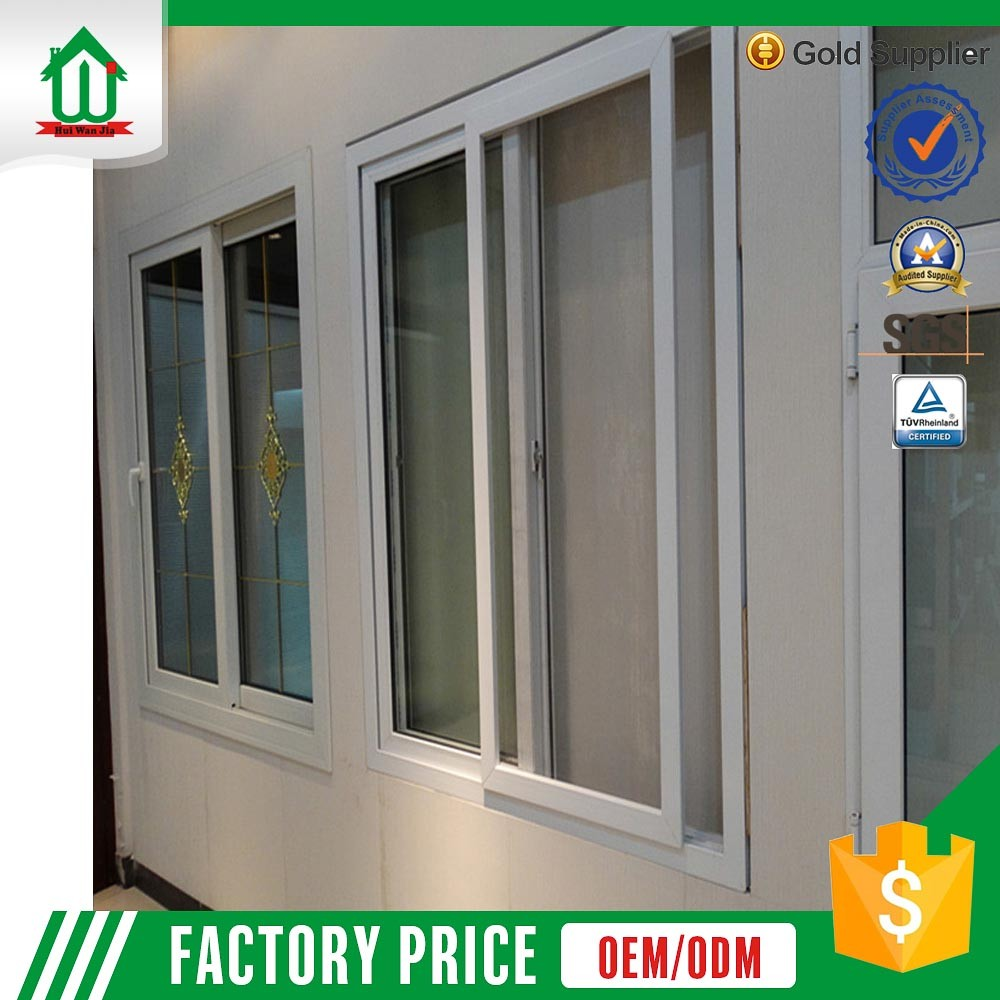 pvc sliding windows interior sliding window factory price
