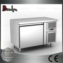 Brandon commercial kitchen equipment pizza prep counter