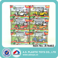 alloy model car kid mini diecast model toy golf cart