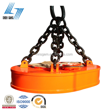 Crane Lifting Magnet for Lifting Scrap, Magnet Lifting Equipment