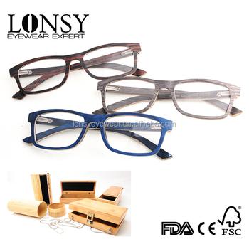 new arrival innovative reading glasses wood frame