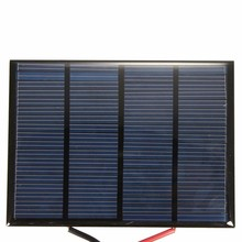 Epoxy Laminated Poly or Mono or sunpower 2V 5V 6V 9V 12V 1W 5W 5W Small Solar Panels