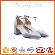 Hot sale thailand high heel shoes high quality leather dress shoes elegant evening shoes for women