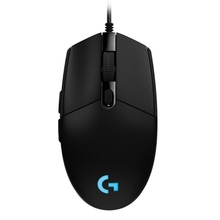 Wholesale Logitech G102 6-keys <strong>RGB</strong> Glowing 6000DPI Five-speed Adjustable Wired Optical Gaming Mouse, Length: 2m