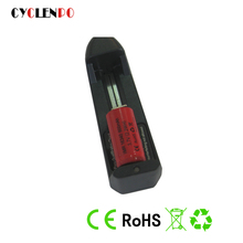 Lithium cylindrical 600mAh 3.7V 16340 rainbow e-cigarette battery