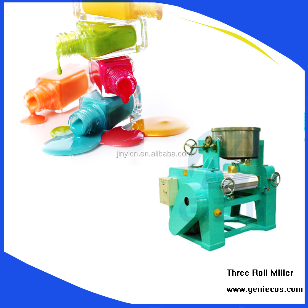 SG Three Roll Mill Machine for cosmetic manufacturing machine