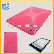 X line tpu soft gel cover for iPad mini shockproof case