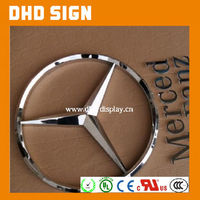 Car brand name stainless steel