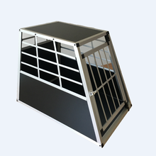 Durable 1-Door Sloping Car Dog Crate by Pet Planet