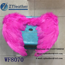Wholesale cheap price sexy red angel wings large feather for Female