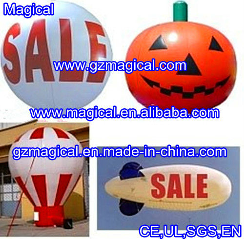 Various shape inflatable advertising balloon