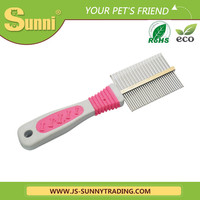 Hot selling fashion dog brush dog grooming