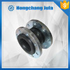 ANSI/GB/JIS flange type single rubber flexible connector expansion joint/pipe compensator