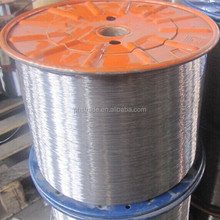 Low carbon electro galvanized staple wire