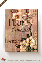 Low Price Printed Flower Canvas Oil Painting