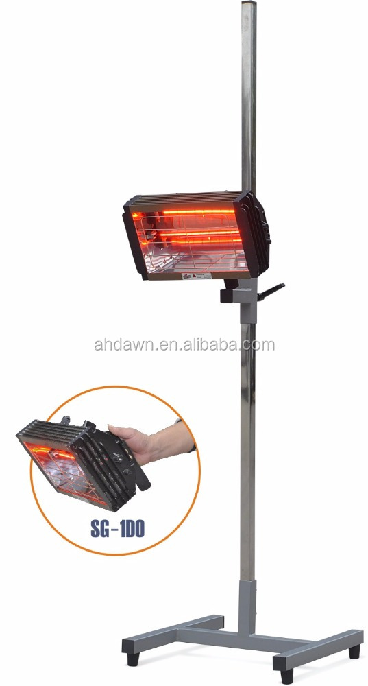 handheld shortwave infrared paint curing lamp for sale