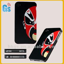 IMD Beijing Opera Mask Face Print Custom Case Covers for iPhone 4/4s/5 Bulk From China