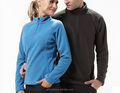 Fashion style windproof polar fleece plain jacket for both women and men