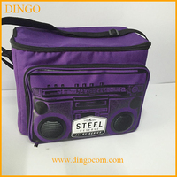 Wholesale speakers shape insulated cooler lunch bag