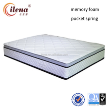 Happy beds pocket spring euro top memory foam orthopaedic mattress