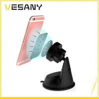 Universal Suction Cup Magnetic Car Mount