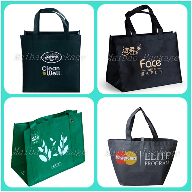 Guangzhou Supplier Wholesale Custom New Pictures Printing Reusable Non Woven Shopping Bag
